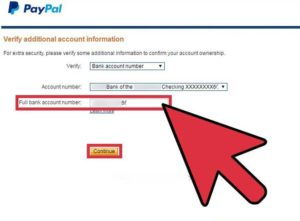 how to reset paypal password with verification code